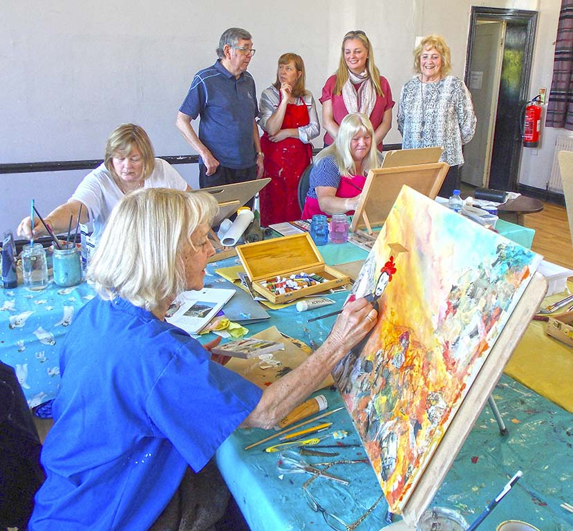 art classes, near me, maghull, southport, formby, merseysidde, beginners art classes