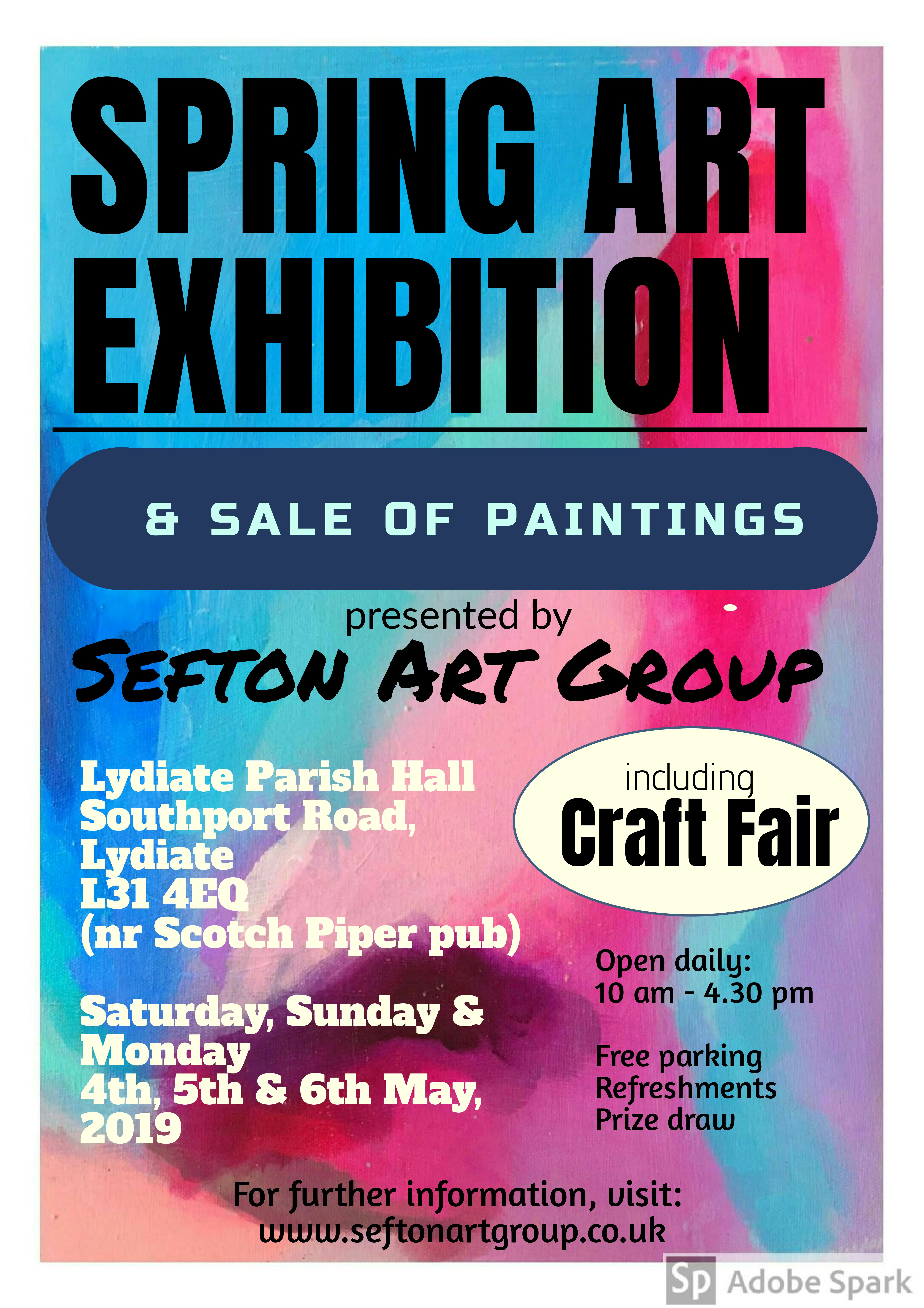 art exhibition, near me, ormsirk, liverpool, southport, merseyside, sefton, lancashire